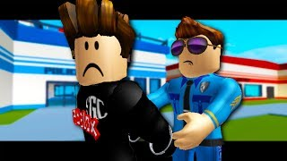 GETTING ARRESTED! Roblox Jailbreak Story