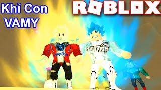 Roblox | Khỉ Con Vamy Đẹp Trai Như Khỉ Con Goku | DRAGON BALL RAGE | Vamy Trần