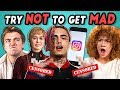 College Kids React To Try Not To Get Mad Challenge (Game Of T...