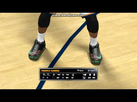 NBA 2K14 Kobe 9/KD 6/Lebron 11(ALL STARS) in game look.