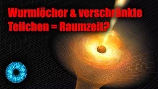 Wurmlöcher & verschränkte Teilchen = Raumzeit? - Clixoom Science & Fiction
