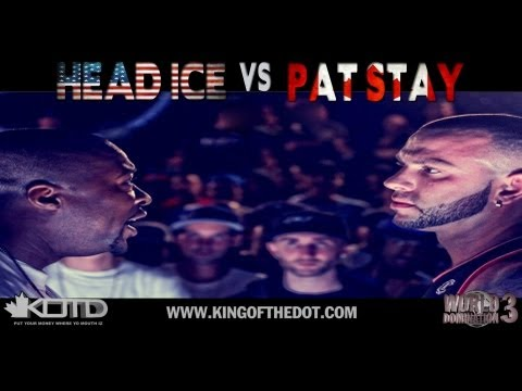KOTD - Rap Battle - Pat Stay vs Head ICE (CANADA vs USA)