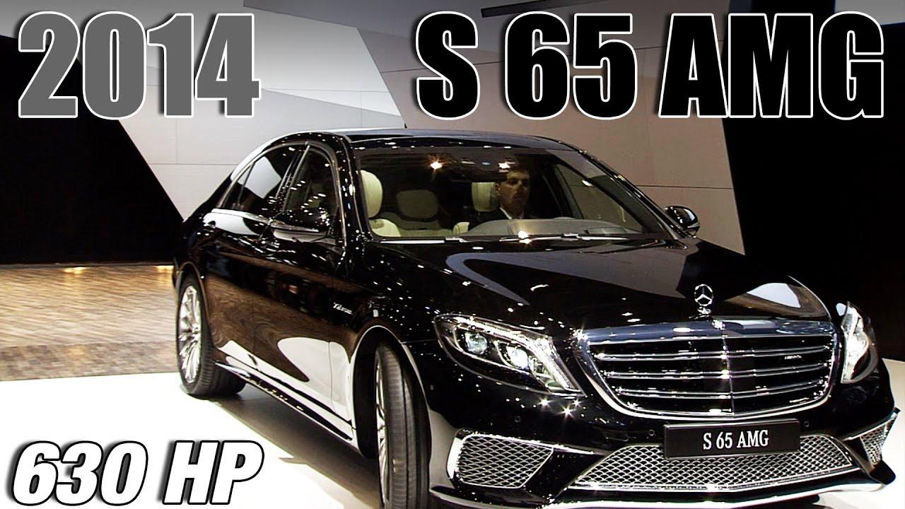 2014 Mercedes S 65 Amg World Premiere Youtube