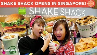 Shake Shack Opens in Singapore! (Jewel Changi Airport) - Hype Hunt: EP38
