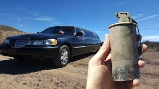 Will A Thermite Grenade Blow Up A Limo? slow motion Richard Ryan