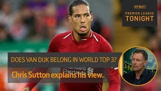 Debate: Is Virgil van Dijk among the top 3 best players in the world? | Premier League Tonight