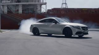 The New Mercedes-AMG C-Class Coupé Commercial - Mercedes-Benz Singapore