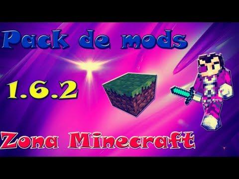 Pack Mods- Vegetta777-Zona Minecraft -Premium/No-Premium -Temporada 3 - 1.6.2