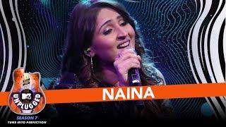 Naina | MTV Unplugged Season 7 | Dhvani Bhanushali | Amaal Mallik | T Series