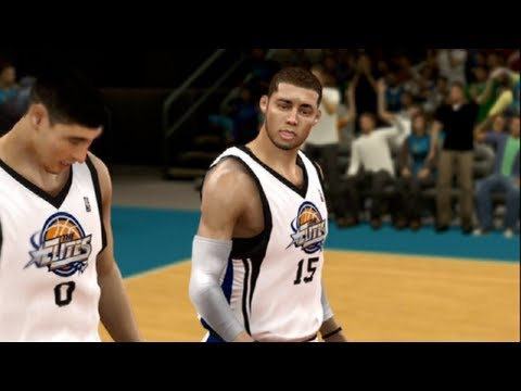NBA 2k12 My Player - Rookie Showcase Ep.2