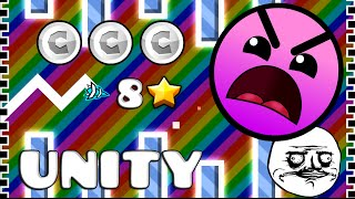 Geometry Dash (2.0) - Unity by Triaxis (EL MEJOR NIVEL - BEST LEVEL EVER)