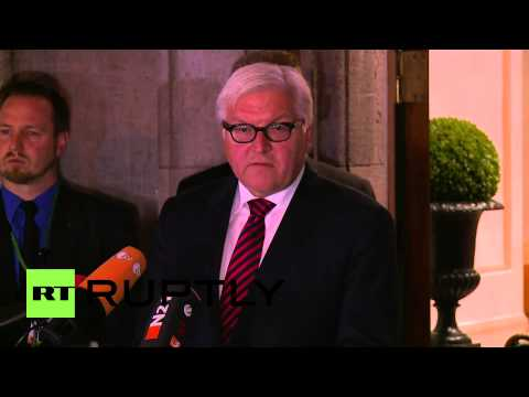 "Germany: ""We made definite progress at 4-way Ukraine talks,"" says Steinmeier"