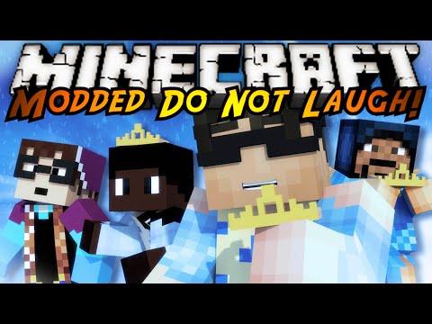 Minecraft MODDED Mini-Game : DO NOT LAUGH 26! (Frozen Mod!)
