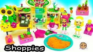 Shopkins Happy Places Shoppies Doll Flower Garden + Surprise Blind Bags in Dirt ?