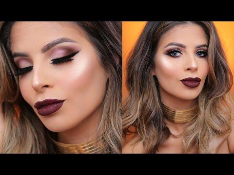 FALL Vampy Makeup Tutorial & Outfit