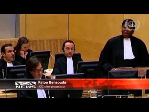 VOXNEWS :Laurent Gbagbo appears in Hague Court 20/02