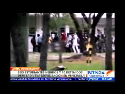 Video revela cómo integrantes de colectivos golpean y desnudan a estudiante opositor venezolano
