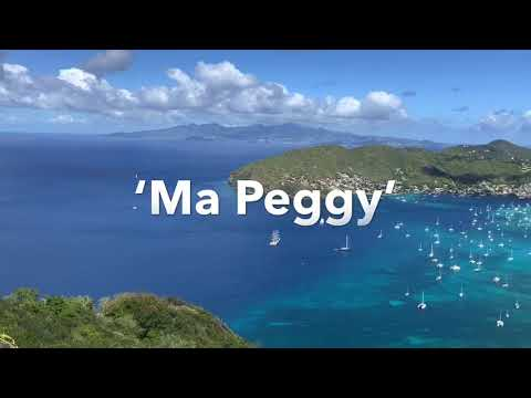 The most beautiful views of Bequia: Bore Woods, and 'Ma Peggy' mountain
