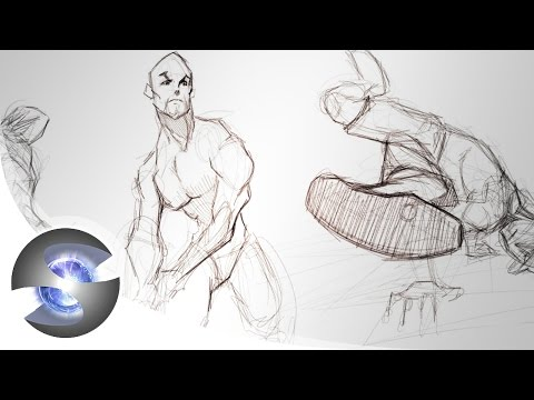 Figure Drawing Demo ( Male )