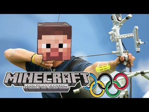 Minecraft (Xbox 360) - OLYMPIC GAMES w/ Big B statz & Subscribers #2 - ARCHERY