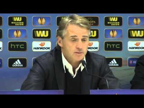 Inter: Mancini parla... e la luce si spegne