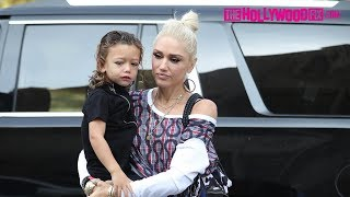 Gwen Stefani Takes Her Sons Kingston, Zuma & Apollo Rossdale To Sunday Morning Church Service 8.6.17