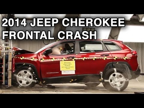 2014 Jeep Cherokee   Frontal Crash Test   CrashNet1