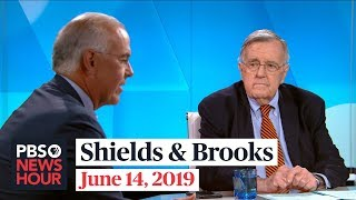 Shields and Brooks on Trump and foreign campaign help, Democratic debates