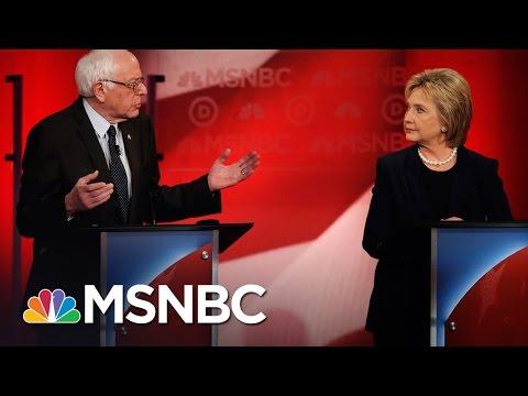 Bernie Sanders, Hillary Clinton Spar Over Being A Progressive | Democratic Debate | MSNBC