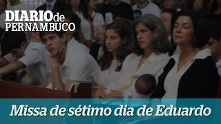Missa de s�timo dia da morte de Eduardo Campos