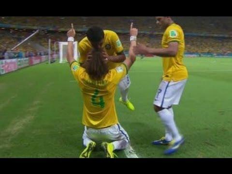 #Brasil2014 : Brasil 2 Vs 1 Colombia : Resumen del partido  - 1/4 Final - Comentarios