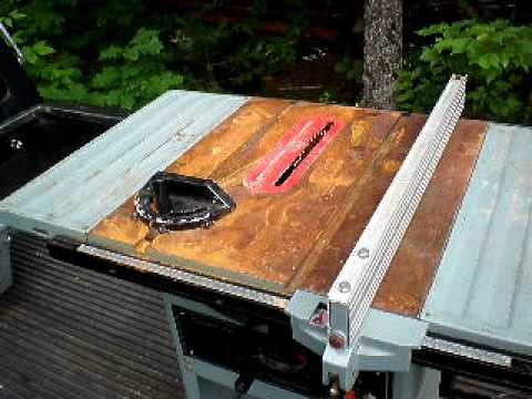 Delta 10 inch table saw youtube for 10 inch delta table saw