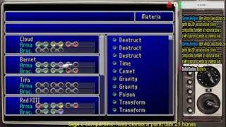 Live - Final Fantasy VII, aguardando remake (Rumo A 1K, só falta 942 kkk)