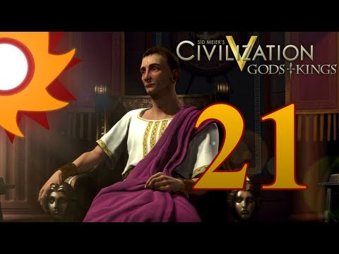 Civilization V Gods and Kings as Rome - Episode 21 ...Uranium is a President's Best Friend!...