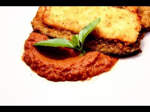BERENJENAS EMPANIZADAS Cocina tu Refri 130 - Breaded Eggplant