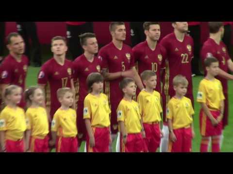 EURO-2016 матч Россия-Англия. Гимн России