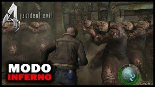 """RESIDENT EVIL 4 - Modo Inferno! (Parte #1) """"O DESAFIO COMEÇOU"""""""