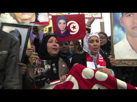 World Social Forum Tunis 2013 (Forum Social Mondial) - Opening march (26/3)