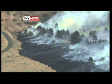 Wildfire burns at least 1500 acres in Michigan - Worldnews.