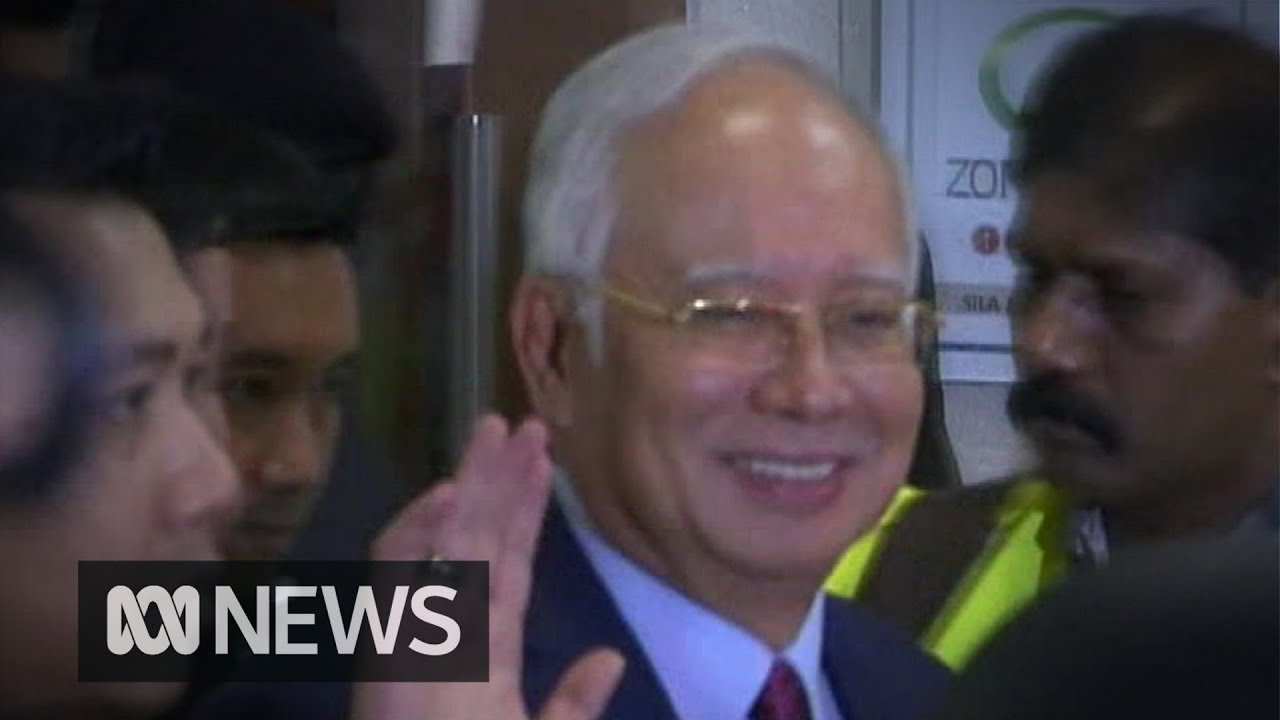 Former Malaysian prime minister Najib Razak charged, pleads not guilty