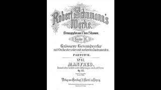 Robert Schumann - Manfred (Opus 115), overture [1848] - New Symphony Orchestra London