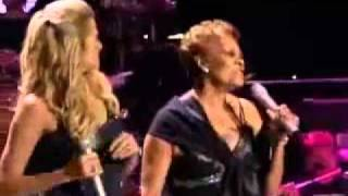 Dionne Warwick & Lucy Lawless -I Say a Little Prayer for You.