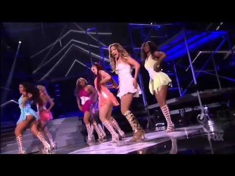 Jennifer Lopez ft Pitbull - Live It Up American Idol Finale 2013
