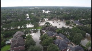 Flood Search And Rescue In College Station, TX In Wake Of Hurricane Harvey
