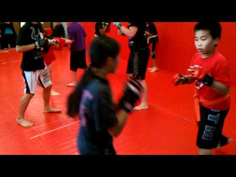 Millennia mma kids training san soo and pankration Image 1