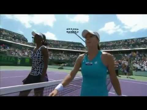 Venus Williams vs Agnieszka Radwanska - Miami 2012 - Highlights
