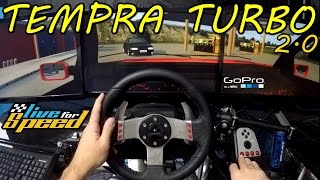 🔴► Live For Speed - Tempra 2.0 Turbo 1.5kg Pressão - G27 - ft. Getaway Driver