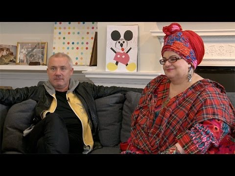 Damien Hirst & Camilla Batmanghelidjh: 'I love the constant reincarnation of the battered mouse'