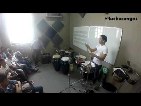 Taller de  Percusion con LUISITO QUINTERO en BARRANQUILLA