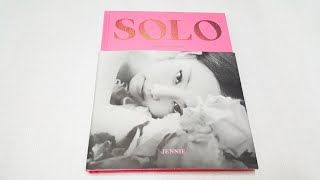 Unboxing Blackpink JENNIE Solo photobook Special Edition 브랙핑크 제니 솔로 앨범 언박싱/ 후기